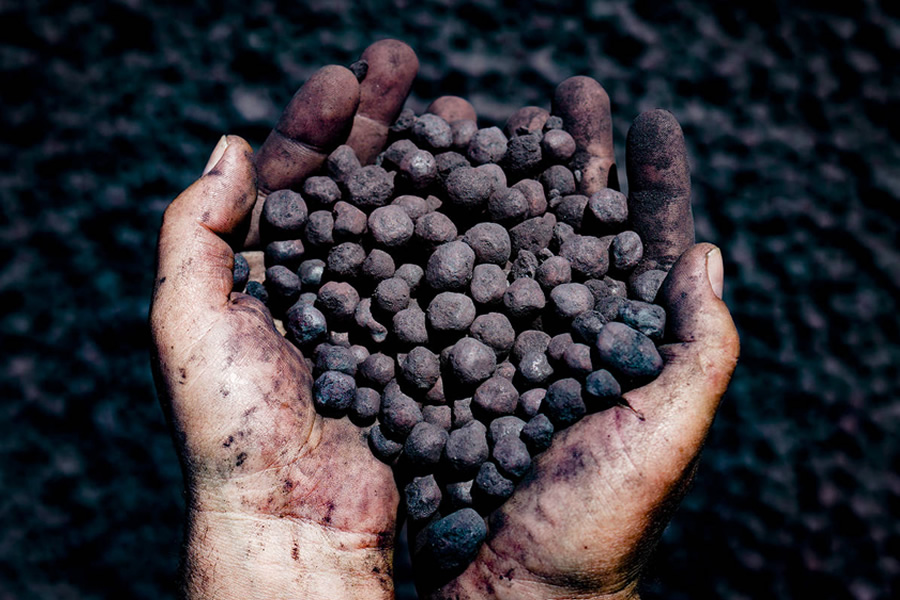 minerio de ferro